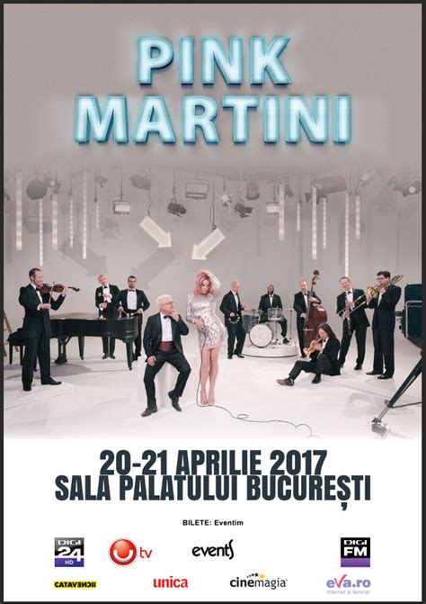 pink martini poster pink martini mai adauga un concert la bucuresti
