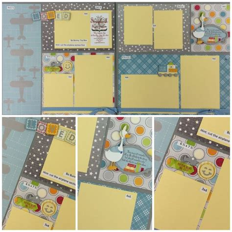 scrapbook layout holder 9 best images about scrapbooking toy box layouts on