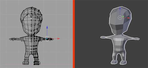 blender tutorial low poly character blender low poly character creation modeling blendernation