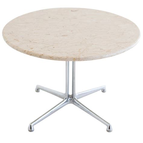 Eames Side Table And Charles Eames La Fonda Marble Side Table Modernism