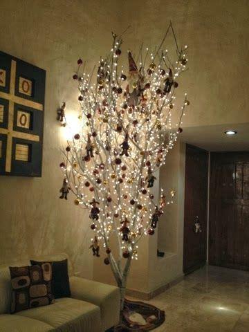 decorar un baño en navidad resultado de imagen para arbol de navidad con ramas secas