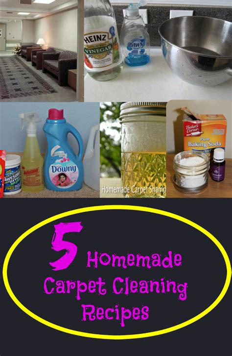 solution diy 5 carpet cleaning recipes fabulessly frugal