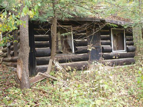 Cabins Near Cuyahoga Valley National Park by Dilapidated Log Cabin Cuyahoga Valley National Park