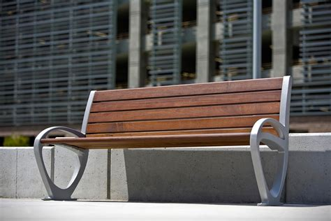 forms and surfaces benches trio bench outdoor forms surfaces