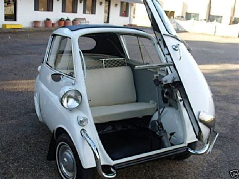 Front Door Car Isetta The 1958 Bmw Makes A Re Entry
