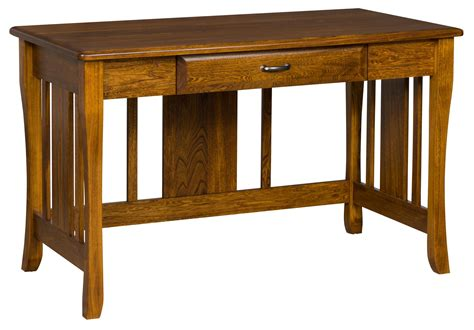 one drawer writing desk berkley writing desk with one drawer from dutchcrafters