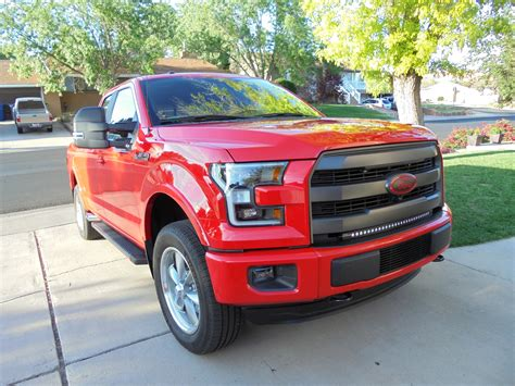 truck ford red let s see some race red trucks ford f150 forum