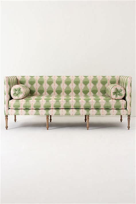 eclectic sofas ditte sofa agave ikat eclectic sofas by anthropologie