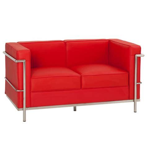 Le Corbusier Sofa Replica by New Le Corbusier Replica Lc2 2 Seater Sofa
