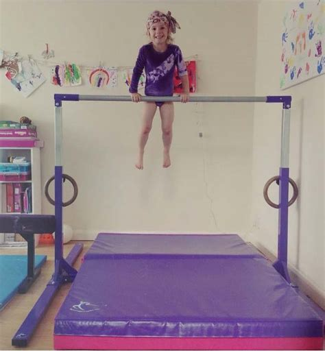 gallery my home gymnastics equipment in use