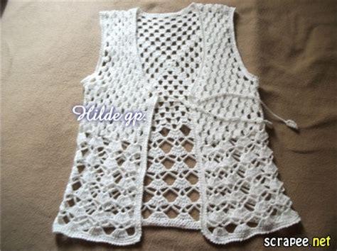 como tejer chompa d verano de mis manos tejidos y mas dos chalecos a crochet