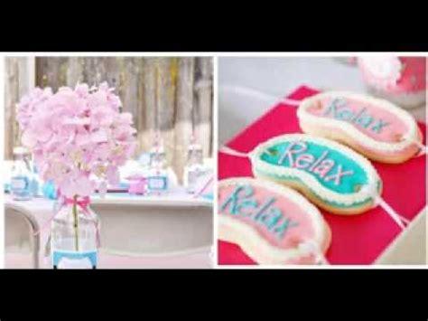 Homemade Home Decorations diy spa party decor ideas youtube