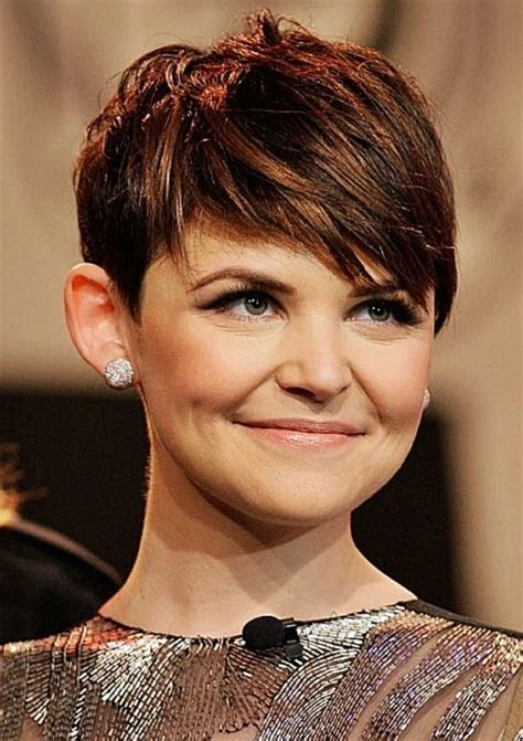 Ginnifer Goodwin Pixie Hairstyle by Ginnifer Goodwin S Pixie Hairstyle Wedding Casual