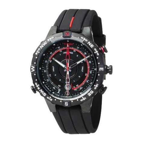 Jam Tangan Sport Pria Timex Expedition Rubber Black Premium timex s t45581 expedition e instruments tide temperature and compass best deals and