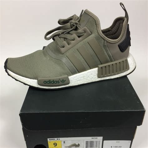 adidas shoes mens size 9 nmd r1 olive green sneakers poshmark