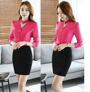 Baju Murah Hem Pita By Akcstore baju kemeja hem lengan panjang wanita model terbaru murah