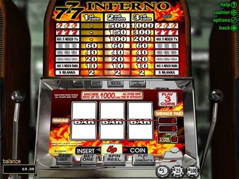 What Does Rtg Stand For by Triple 7 Inferno 3 Reel Slot Rtg Slots Review 24hr