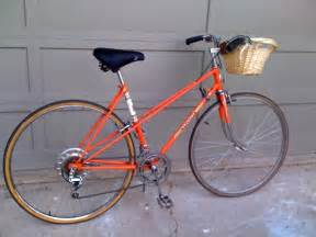 Peugeot 10 Speed Bike Peugeot 10 Speed Mixte Vintage Bike Orange Stolen From
