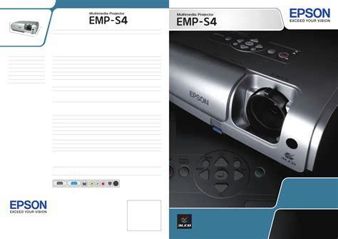 Epson Projector Emp S4 User Guide Manualsonline Com
