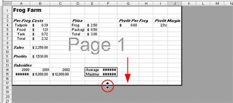 excel 2007 html format excel 2007 in pictures print worksheets