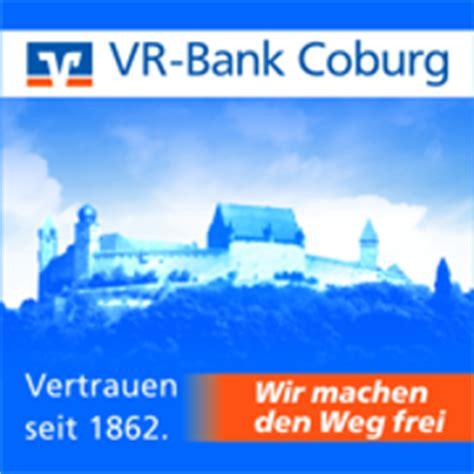 vr bank lichtenfels itzgrund vr bank coburg eg banken coburg deutschland tel