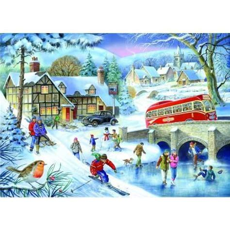 printable winter jigsaw puzzles winter games jigsaw puzzle from jigsaw puzzles direct