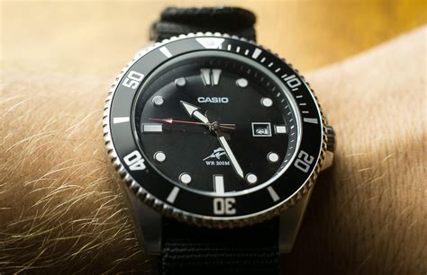 casio dive watches casio mdv106 1a review
