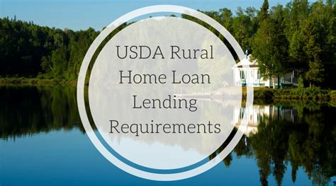 rural housing loan requirements usda rural home loan lending requirements arizona mortgage team