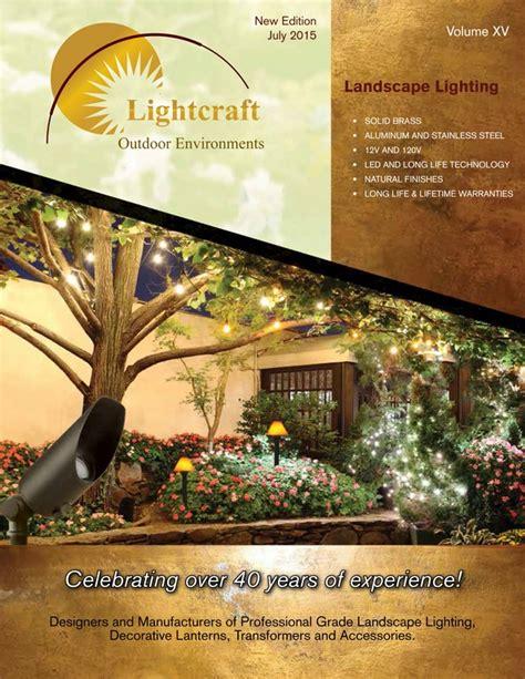 lightcraft landscape lighting lightcraft publishes 2015 landscape lighting catalog