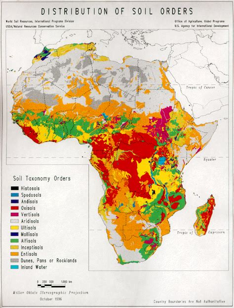 africa map of resources an assessment of the soil resources of africa in relation