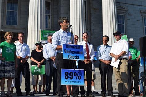 Vermont Gun Background Check Democratic Candidates Call For Vermont Gun Legislation Message