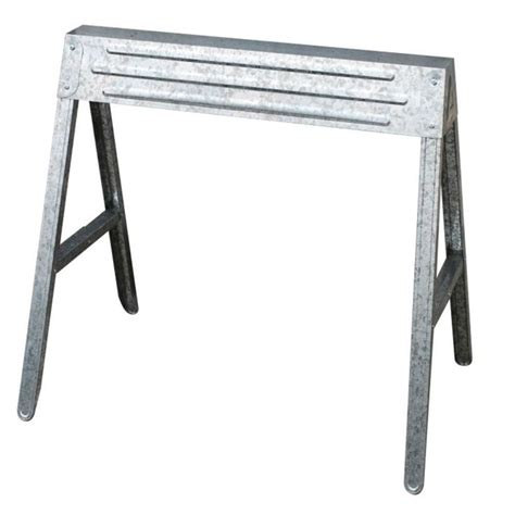 1 compartment folding steel sawhorse
