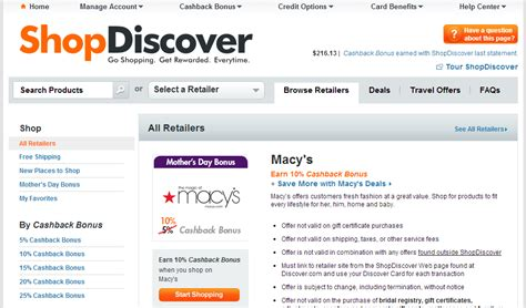 Discover Gift Card Partners List - king of cash back quot discover it quot card review ways to save money when shopping