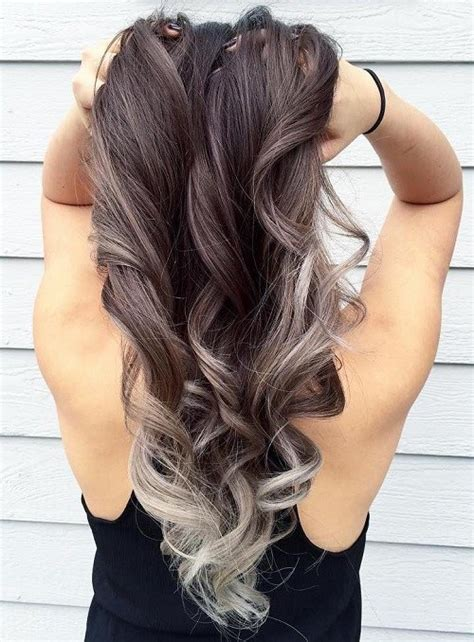 silver brown hair 40 glamorous ash blonde and silver ombre hairstyles page