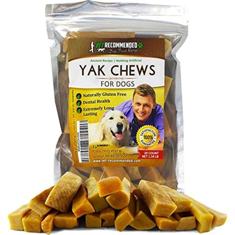 vet recommended chews review vet recommended yak chews tasty pet foods