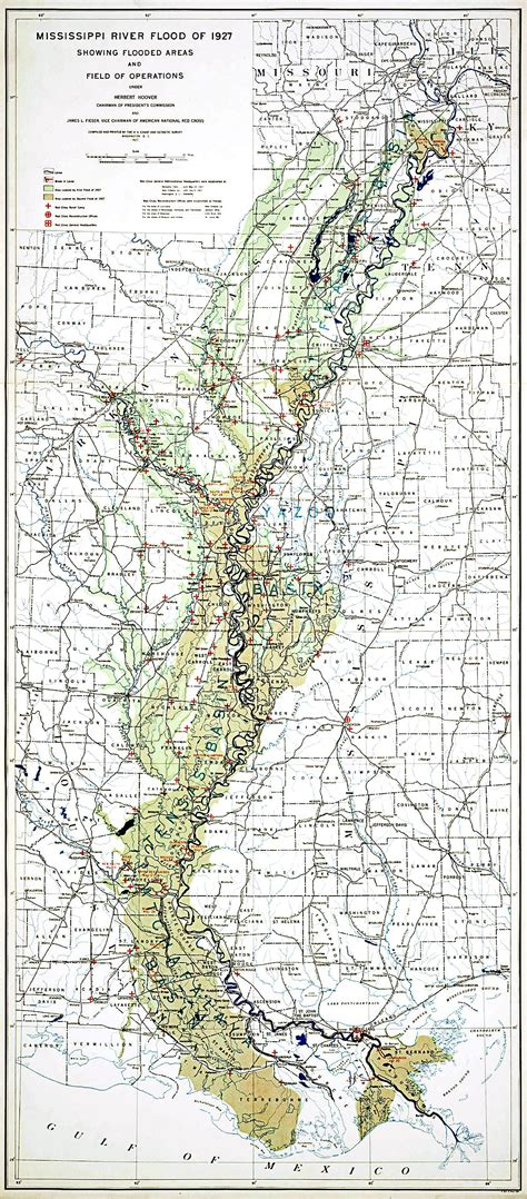 louisiana flood maps great mississippi flood of 1927 wikipedia