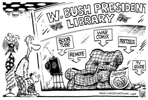 Bush Doesnt See The Humor by The Contributor Six That You Won T See In New