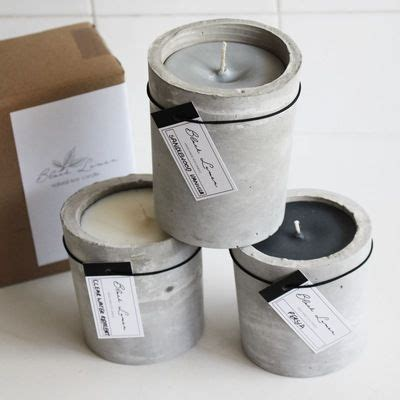 Candle Pillars Soy Pillar Candle Scented Soy Candle Cement Pillar Diy