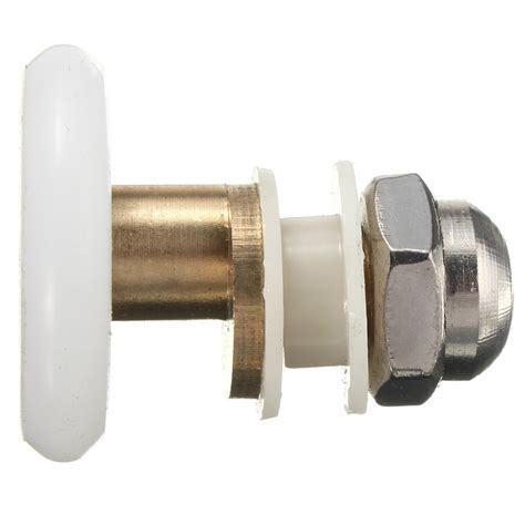 Shower Door Roller Other Bathroom Replacement Brass Shower Door Roller Runner Glass Door Wheel Pulley Was Listed
