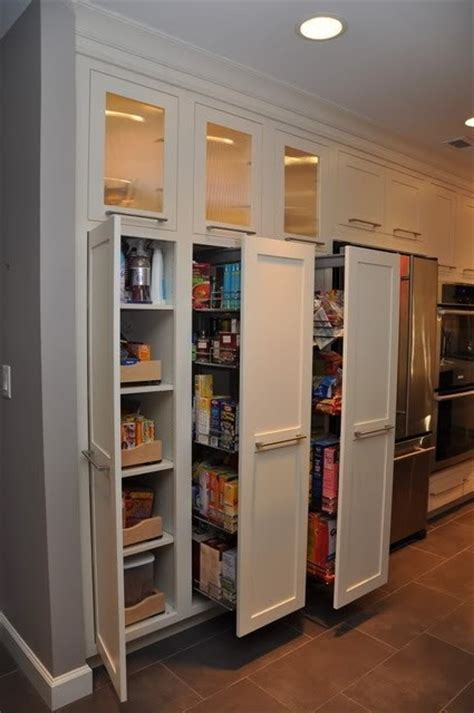 Kitchen Pantry Cabinet With Pull Out Shelves These Pull Out Pantry Shelves Kitchen Makeover