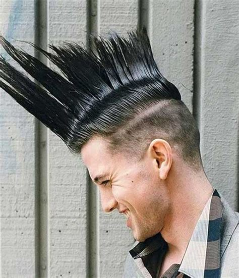 mohawk just on the top of head black men men mohawk hairstyle mens hairstyles 2018