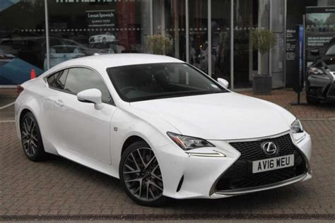 old lexus sports car used lexus rc 2 0 f sport for sale what car ref suffolk