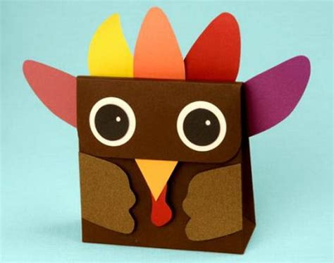 Thanksgiving Paper Craft Ideas - thanksgiving craft ideas for