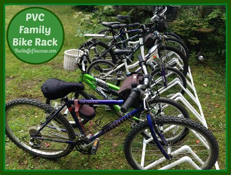 Pvc Bike Rack For by Pvc Bike Rack For The Entire Family The Stuff Of Success