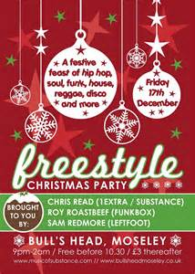 ra freestyle christmas party with chris read at bulls