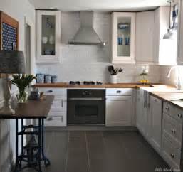 ikea farmhouse kitchen kitchens pinterest