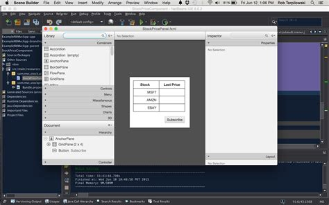 javafx trigger layout mvc tutorial with the netbeans rich client platform rcp