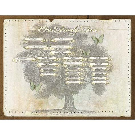 genealogy book template my family tree layered template no 01 pertiet