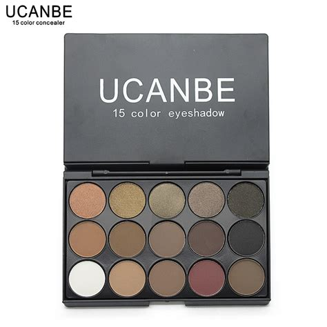 Inez Palette Eye Shadow 15 Colors Promo ucanbe brand professional 15 earth colors matte eyeshadow palette pigments makeup shimmer eye