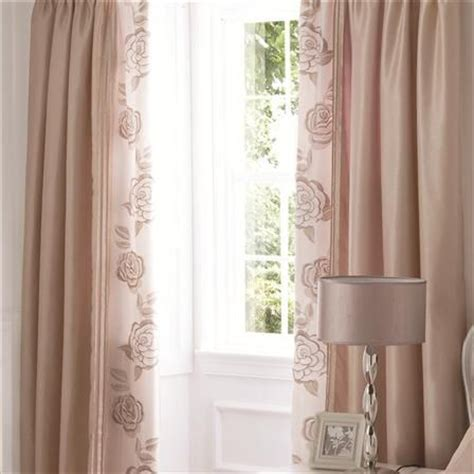 gold curtains for bedroom rose gold curtains lansfield pair of deco rose